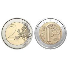 2 Евро Словакии 2018 Г., 25 Лет Независимости Словакии