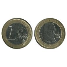1 евро Австрии 2009 г.