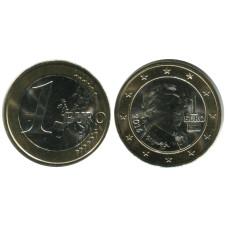 1 Евро Австрии 2016 Г.