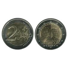 2 Евро Люксембурга 2019 Г.,100 Лет С Дня Вступления На Трон Великой Герцогини Шарлотты