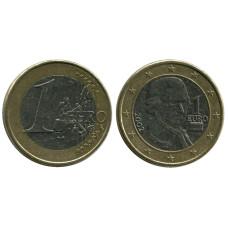 1 Евро Австрии 2002 Г.