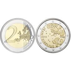 2 Евро Финляндии 2015 Г., 150 Лет Со Дня Рождения Яна Сибелиуса