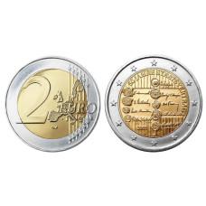 2 Евро Австрии 2005 Г. 50 Лет Подписания Договора О Нейтралитете Австрии