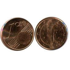 1 Евроцент Португалии 2007 Г.
