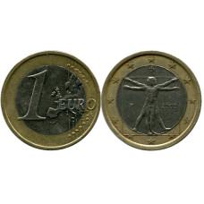 1 евро Италии 2002 г.