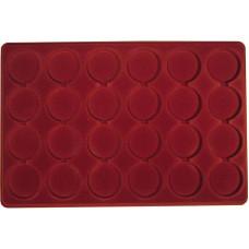 Планшет для монет (на 24 круглые ячейки, 46 мм)