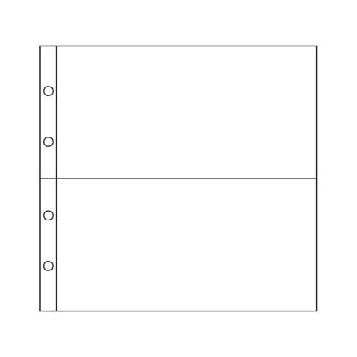 Лист горизонтальный на 2 ячейки (ЛБГ2)