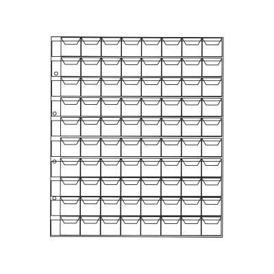 Лист на 80 ячеек (ЛМ80кл-О)