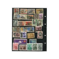 Лист марок  1958-1980 гг. (52 шт.)