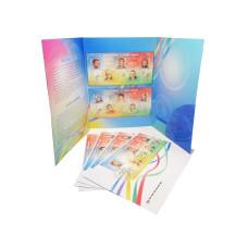 Лист марок с конвертами в буклете, Легенды спорта, Сочи 2014, Первый день