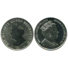 1 доллар Британских Виргинских островов 2017 г., Елизавета II