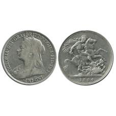 1 крона Англии 1894 г., Королева Виктория (1)