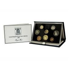 Набор из 8-ми монет и жетона Великобритании 1986 г.
