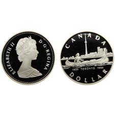 1 доллар Канады 1984 г., 150 лет Торонто