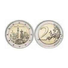 2 евро Литвы 2020 г. Гора Крестов