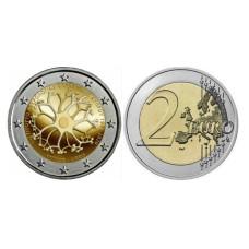 2 Евро Кипра 2020 г. 30 лет Кипрскому институту неврологии и генетики