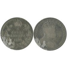 5 центов Канады 1909 г.