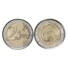 2 евро Андорры 2020 г. Всеобщее избирательное право в блистере