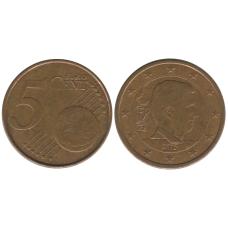 5 евроцентов Бельгии 2015 г.