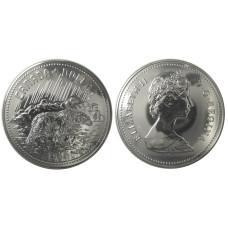 1 доллар Канады 1980 г., Полярный медведь