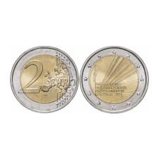 2 евро Португалии 2021 г. Председательство в совете ЕС