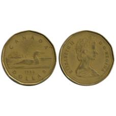 1 доллар Канады 1988 г.