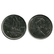 10 центов Канады 1988 г.
