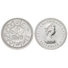 1 доллар Канады 1978 г., XI Игры Содружества, Эдмонтон