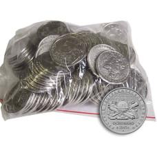 5 рублей России 2015 г. РГО 100 шт. Опт