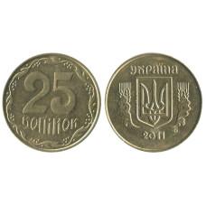 25 копеек Украины 2011 г.