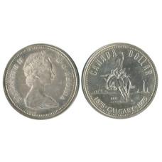 1 доллар Канады 1975 г., 100 лет Калгари, Родео