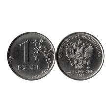 1 рубль 2021 г.