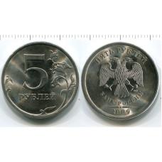 5 рублей 2009 г., магнитная
