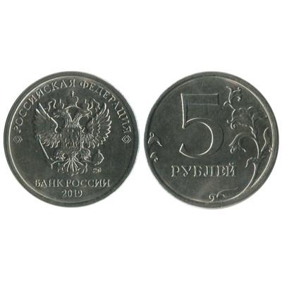 Монета 5 рублей 2019 г.