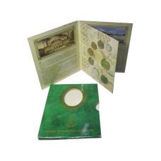 Набор разменных монет 2009 г., 285 лет монетному двору (в буклете) 2