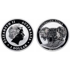 1 доллар 2014 г., Коала