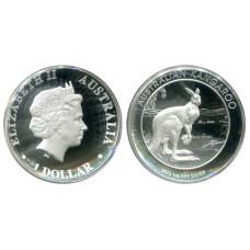 1 доллар 2013 г., Кенгуру