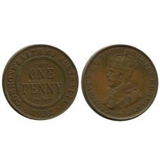 1 пенни Австралии 1932 г.