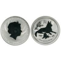 1 доллар 2018 г., Год собаки