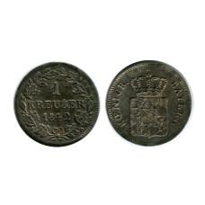 1 крейцер Баварии 1842 г.