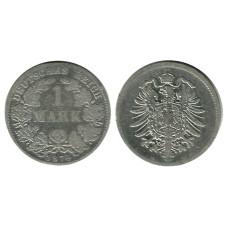 1 марка Германии 1874 г. ( D)