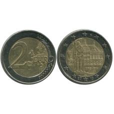2 евро Германии 2010 г., Городская ратуша и Роланд, Бремен A