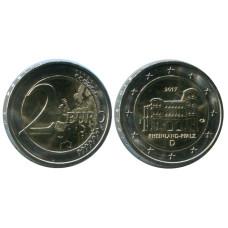 2 евро Германии 2017 г., Порта Нигра, Рейнланд-Пфальц (J)