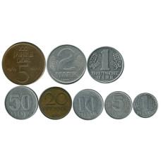 Набор из 8-ми монет Германии, разные года