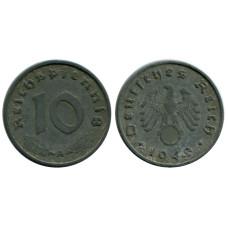 10 рейхспфеннигов Германии 1940 г. A