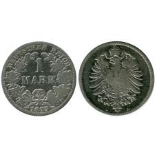 1 марка Германии 1875 г. (А)