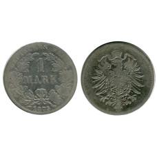 1 марка Германии 1875 г. (B)