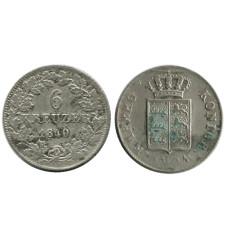 6 крейцеров Пруссии 1840 г. (РМ)