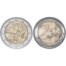 2 евро Германии 2019 г. 30 лет падению Берлинской стены (D)