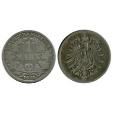 1 марка Германии 1875 г. (E)